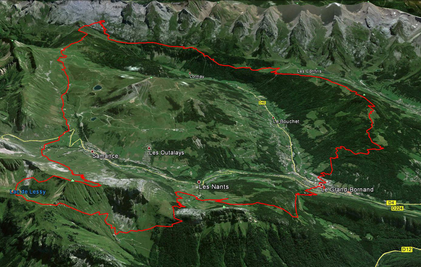 Trail Grand Bornand grande distance